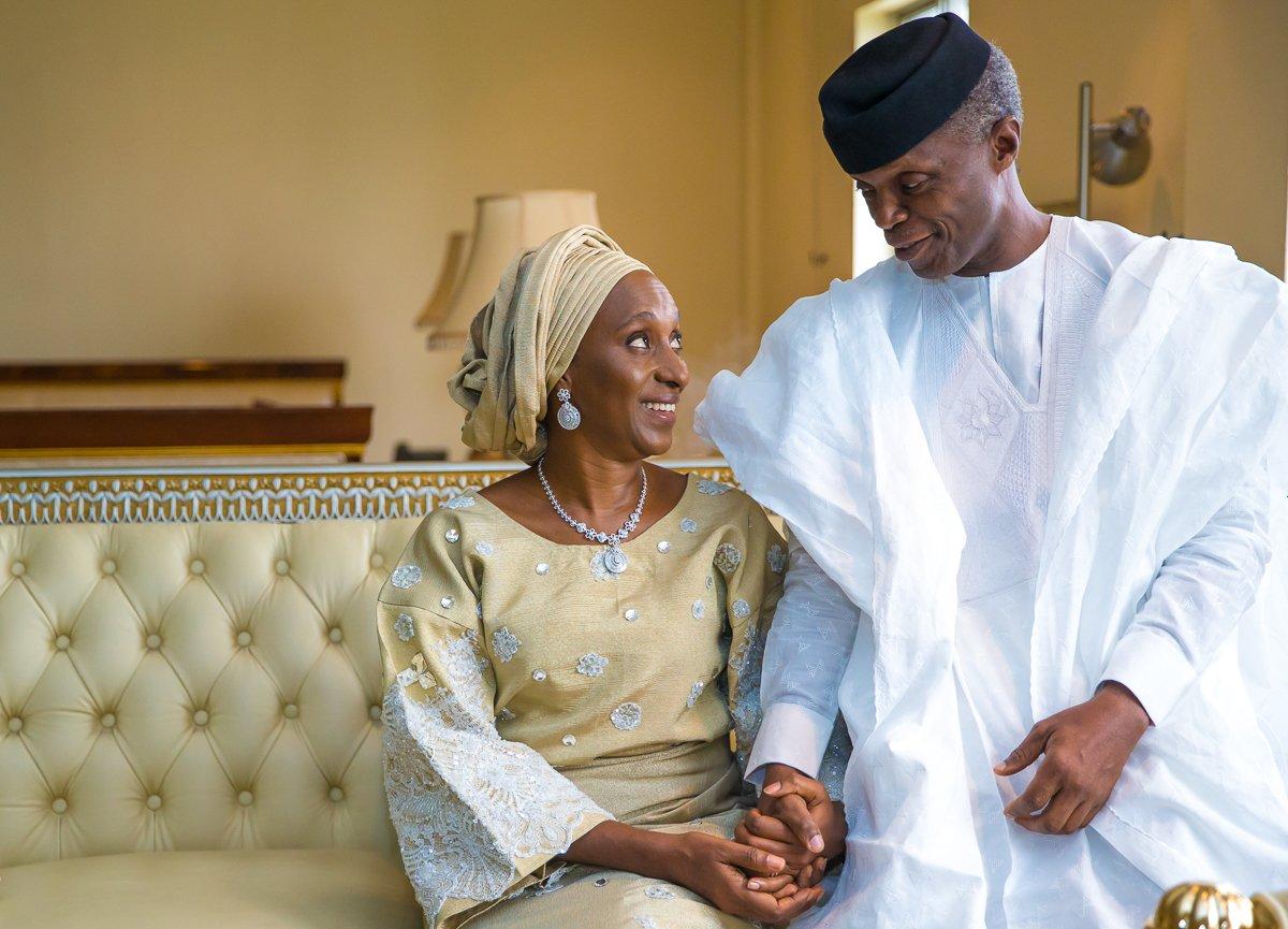 VP Yemi Osinbajo tells wife
