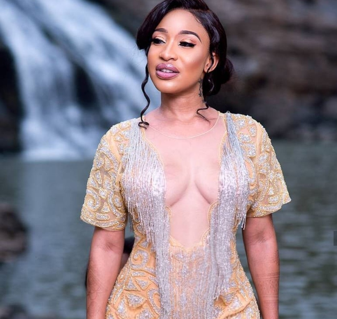 Tonto Dikeh Begs Jesus For New Pair Of Boobs » Watch Video