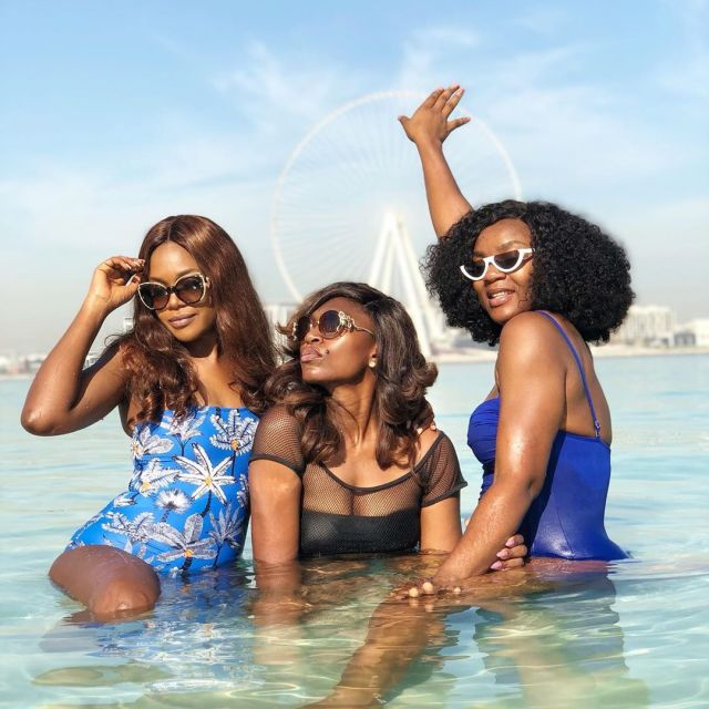 Omoni Oboli, Chioma Akpotha & Ufuoma Mcdermott shares Bikini Photos