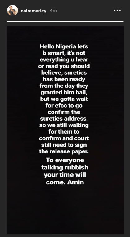Naira Marley's management releases