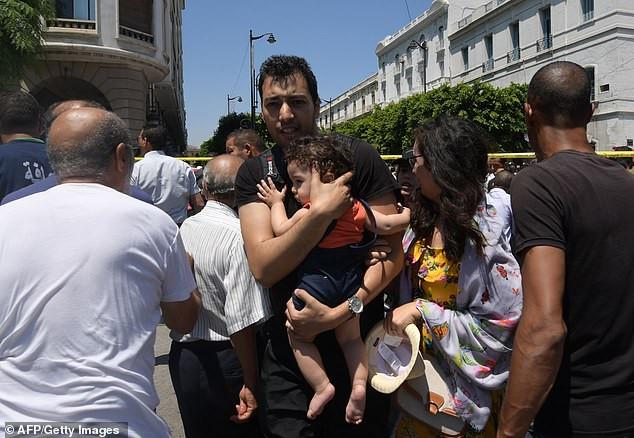 Multiple explosions rock Tunisia