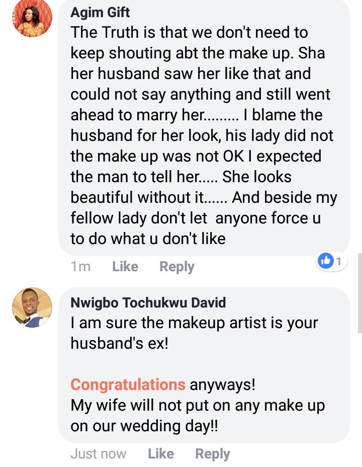 Excited bride mocked after she shared her traditional