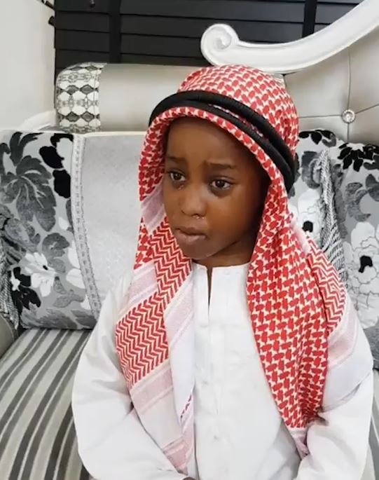 After having a swell time in Dubai, Little girl says she does not want to come back to Nigeria