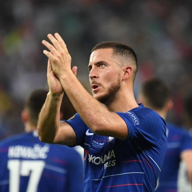 Madrid sign Eden Hazard