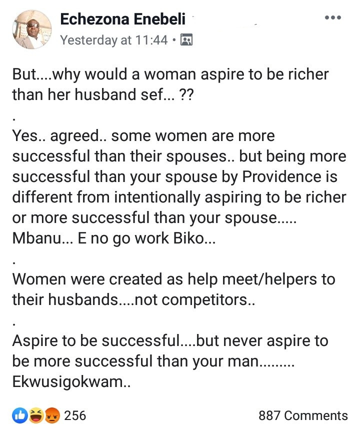 Igbo man advices women