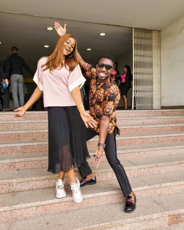 Timi Dakolo shares wedding video