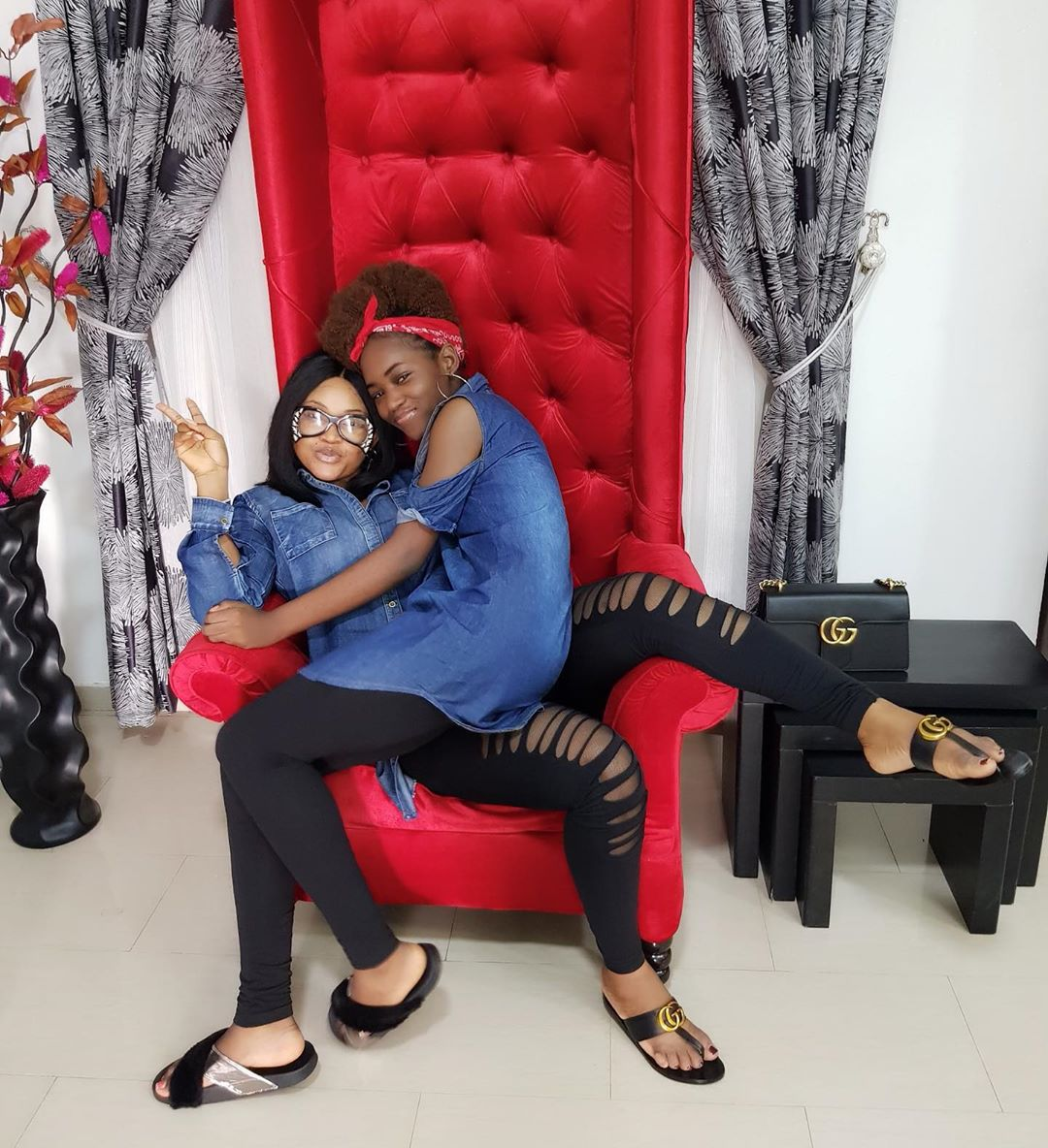 Mercy Aigbe reminds
