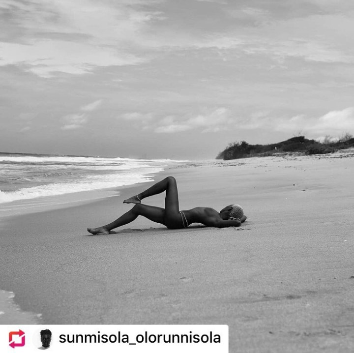 Nigerian Tribal Mark Model, Adetutu OJ Goes Nude For A Shoot