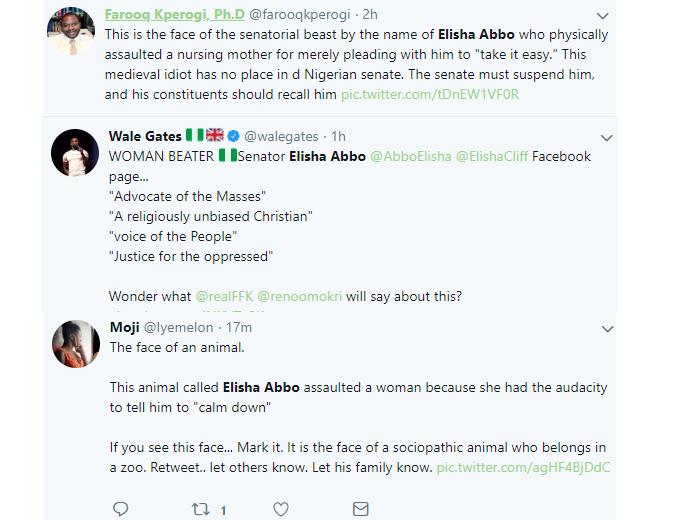 MI Abaga condemn Senator Elisha Abbo for physically assaulting lady in a sex shop