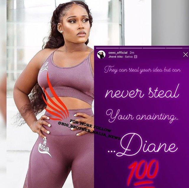 CeeC supports Diane