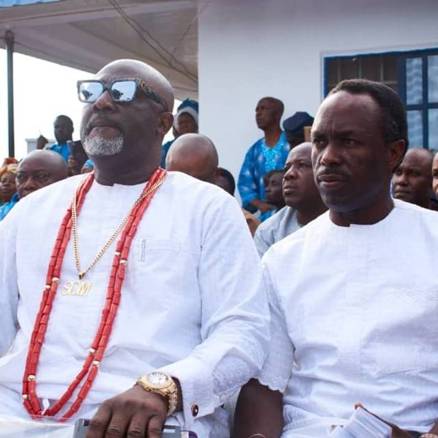 Senator Dino Melaye buries mother