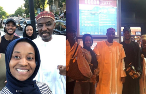 Emir Sanusi Takes Family