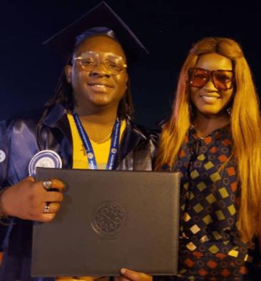 Omotola jalade Ekeinde son graduates