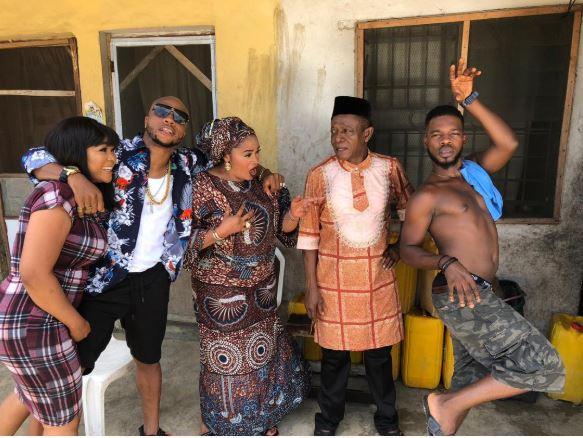 ceecee debut 01 Cee-C makes her Nollywood debut (Photos)