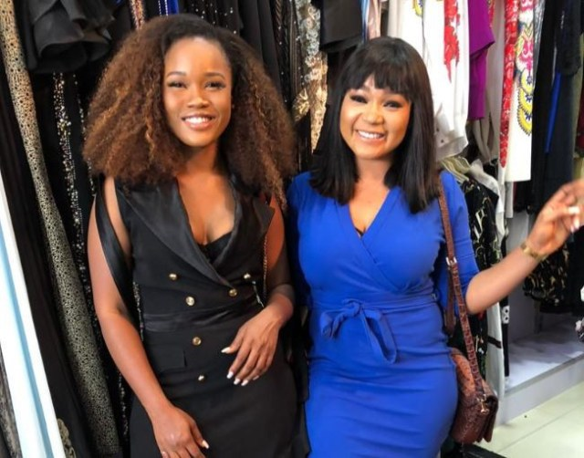 ceecee debut 02 Cee-C makes her Nollywood debut (Photos)