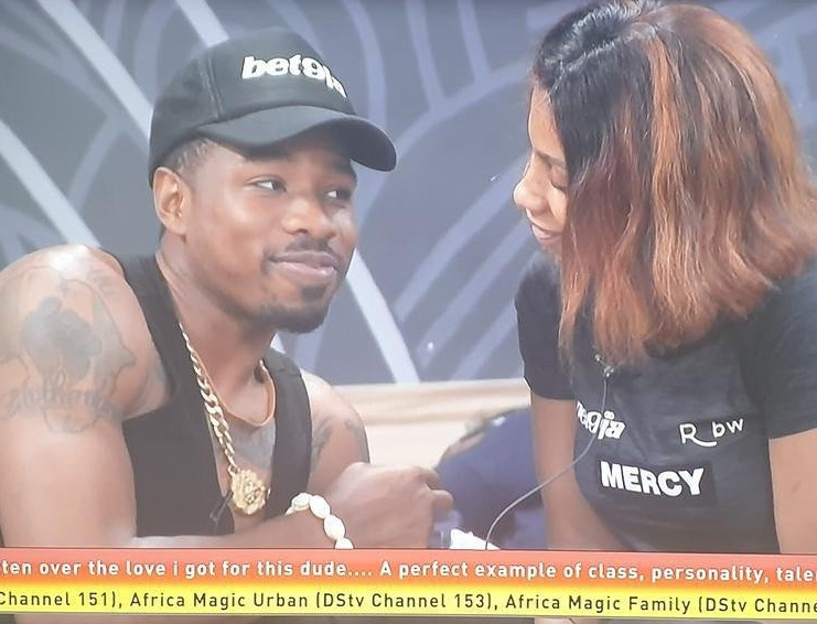 """#BBNaija: """"I have enough clothes to wear without repeat, I don't smell"""" – Mercy tells Ike"""