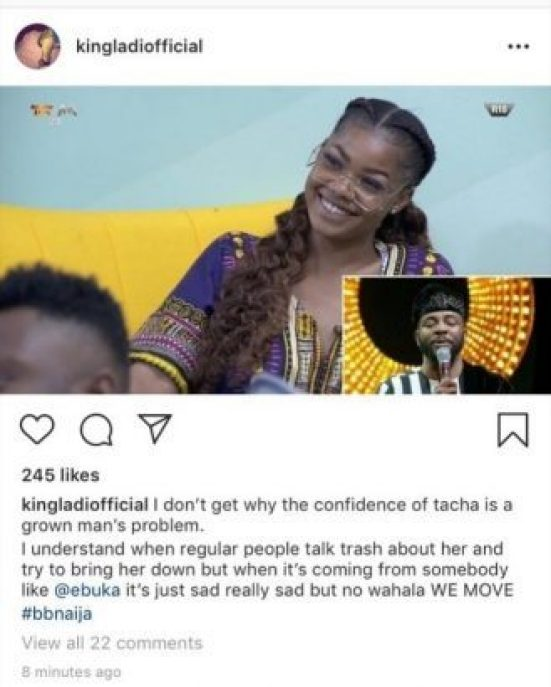 Tacha Alleged Boyfriend