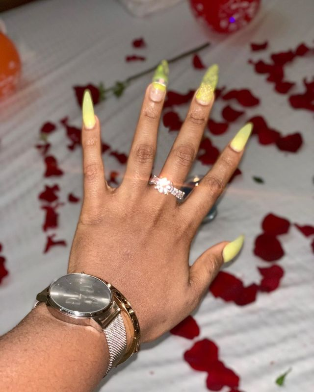 BamBam get engaged