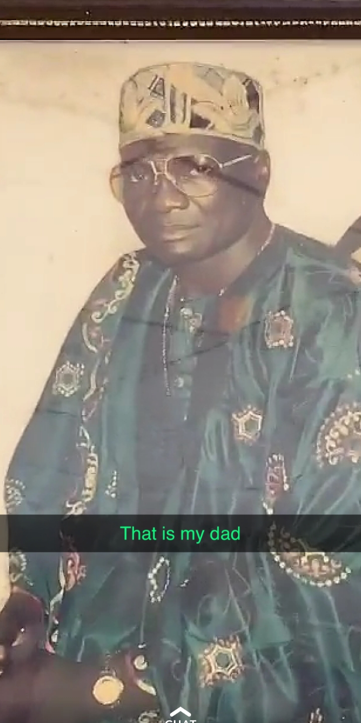 Bobrisky's late father