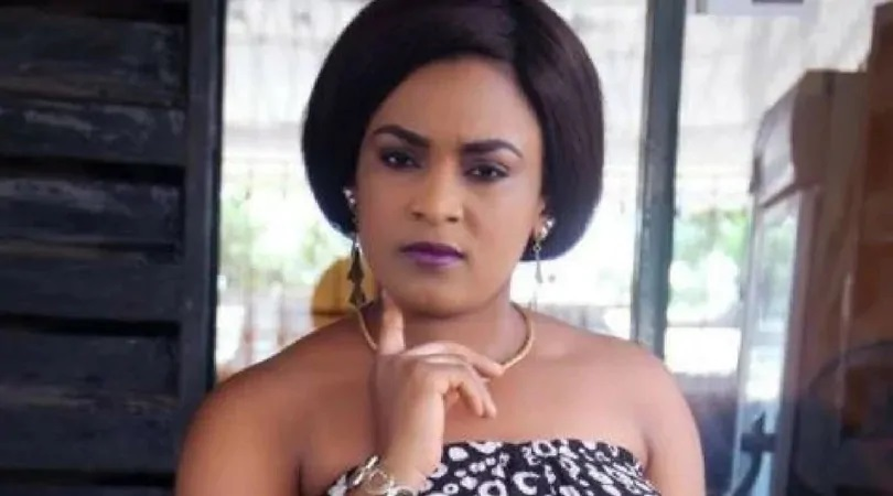 sylvia1 1 - I can't marry because I swore a blood oath with my ex says  Actress, Sylvia Ukaatu says