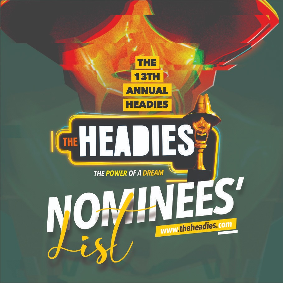 Headies 2019 Awards Nominees List