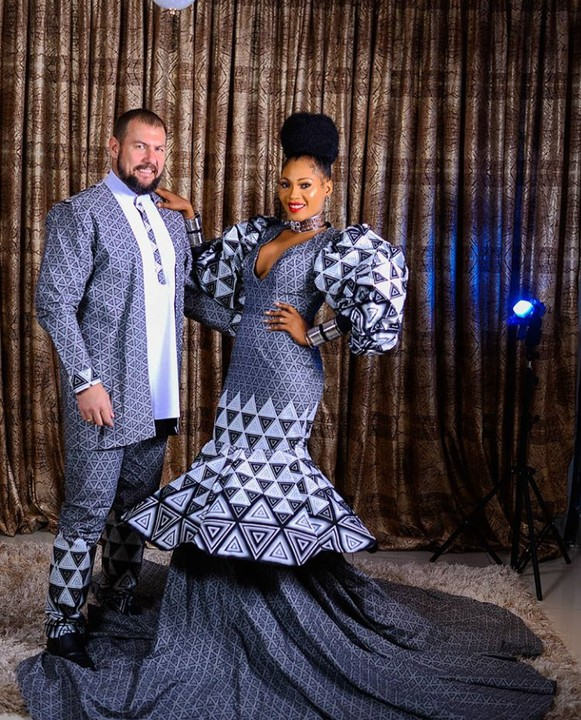 Lovely pre-wedding pictures of a white man and his Nigerian fiancee 2