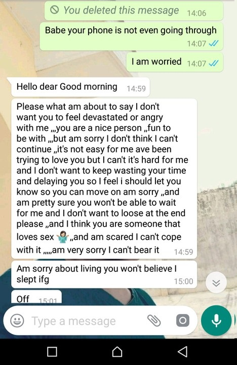 Lady Ends Relationship as a Christmas Gift to Boo 2