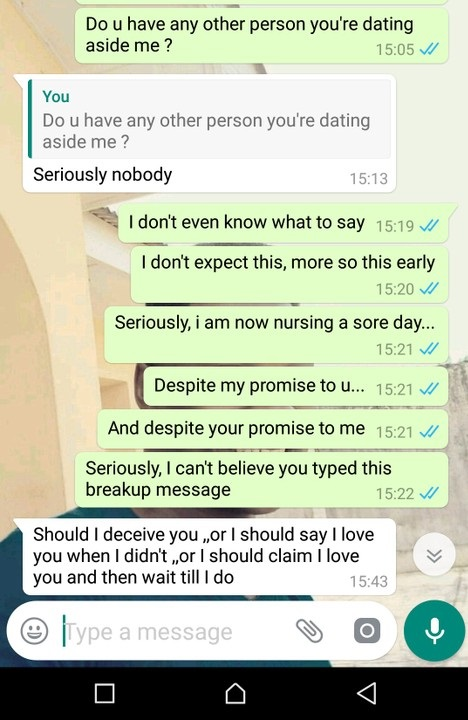 Lady Ends Relationship as a Christmas Gift to Boo 3
