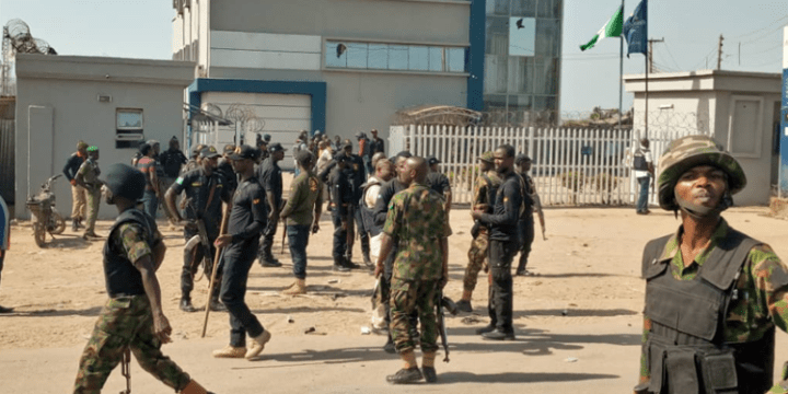 Breaking: Abuja Bank robbery attempt