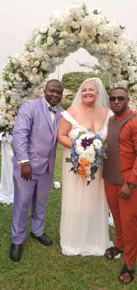 90 Day Fiance: Nigerian man, from the reality show, finally wed his much older Caucasian fiancee 3