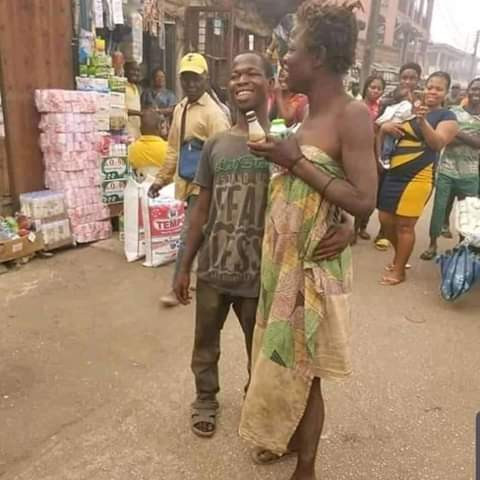 Photos: Mentally- challenged couple spotted celebrating Valentine's Day in Edo 3
