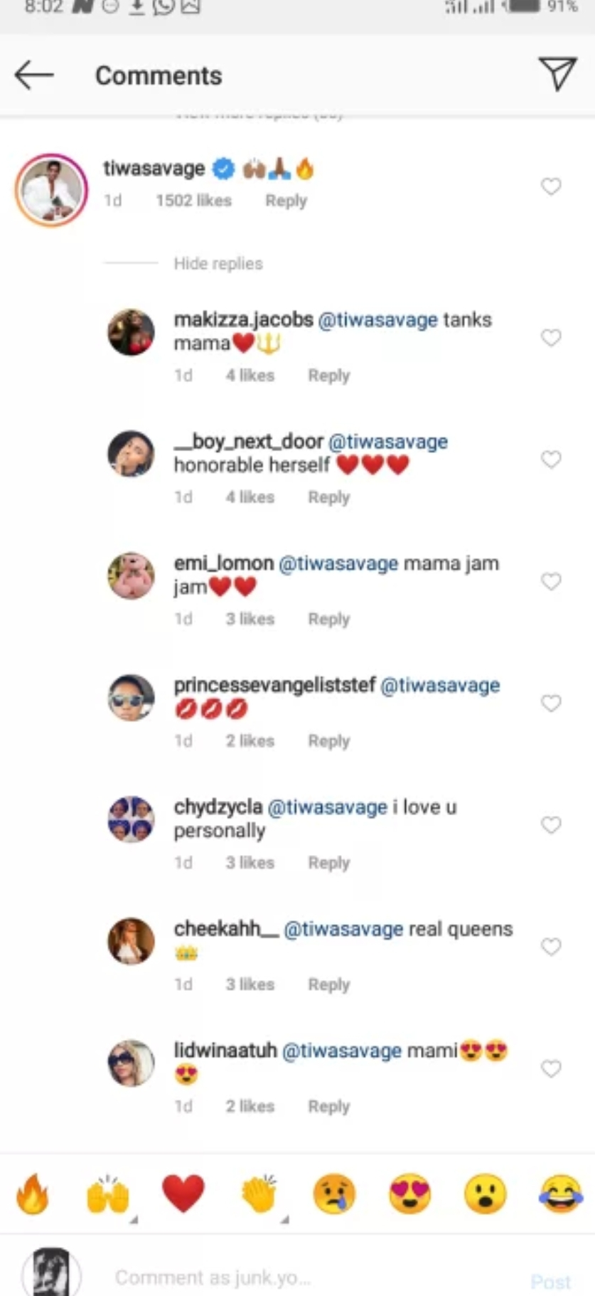 Fans react to Tacha and Tiwa Savage' new relationship