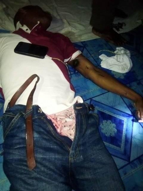 Man electrocuted while charging his phone in Rivers (Graphic Photos)