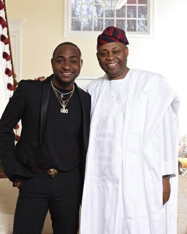 Davido reveals what happened when his father first saw tattoos on his body