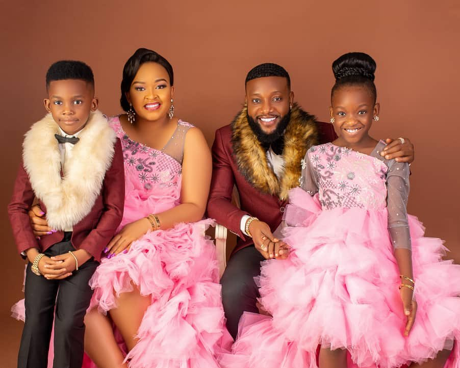 Finally, singer Kcee reconciles with his wife; shares adorable family photo