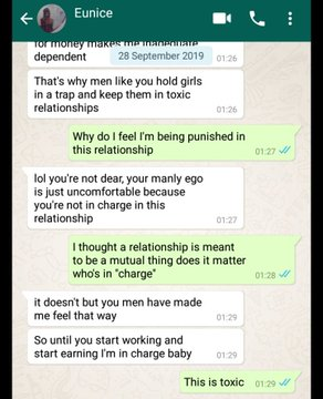 """Working class lady blows hot on her unemployed boyfriend after discovering that he """"squandered"""" her money (Screenshots) 10"""
