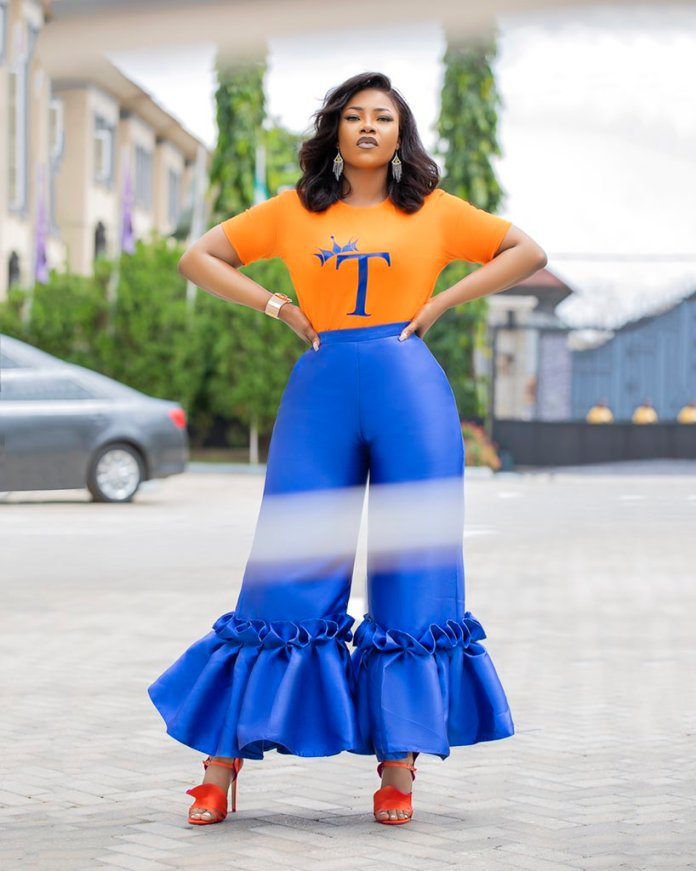 """""""This Queen gets better everyday"""" – Tacha gushes over herself as she shares adorable new photo"""