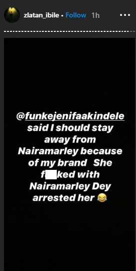 """She f**cked with Naira Marley and got arrested"" – Zlatan Ibile shades actress Funke Akindele"