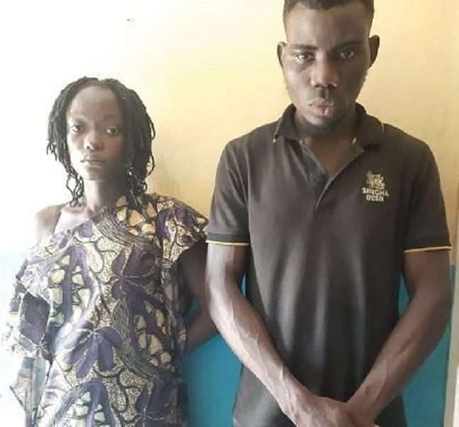 Shocking: Man and wife arrested for inserting a bottle into his ex-girlfriend's vagina