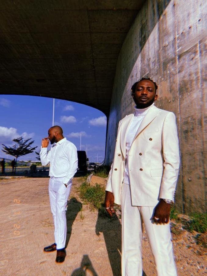 Davido signs May D to his label, DMW #30Bg