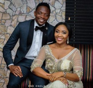 Nigeria Footballer, Ahmed Musa and wife, welcome a baby boy