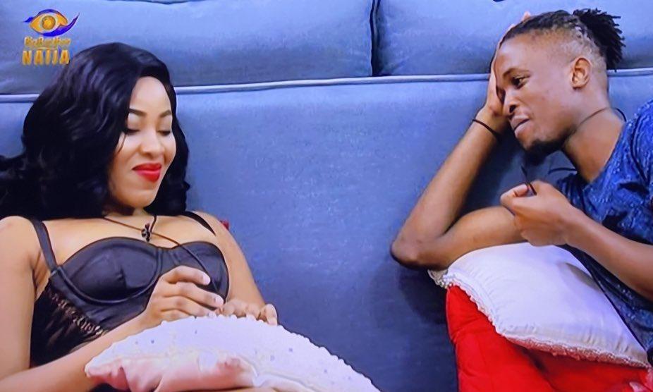 "#BBNaija 2020: ""I have feelings for you"" - Laycon finally tells Erica"
