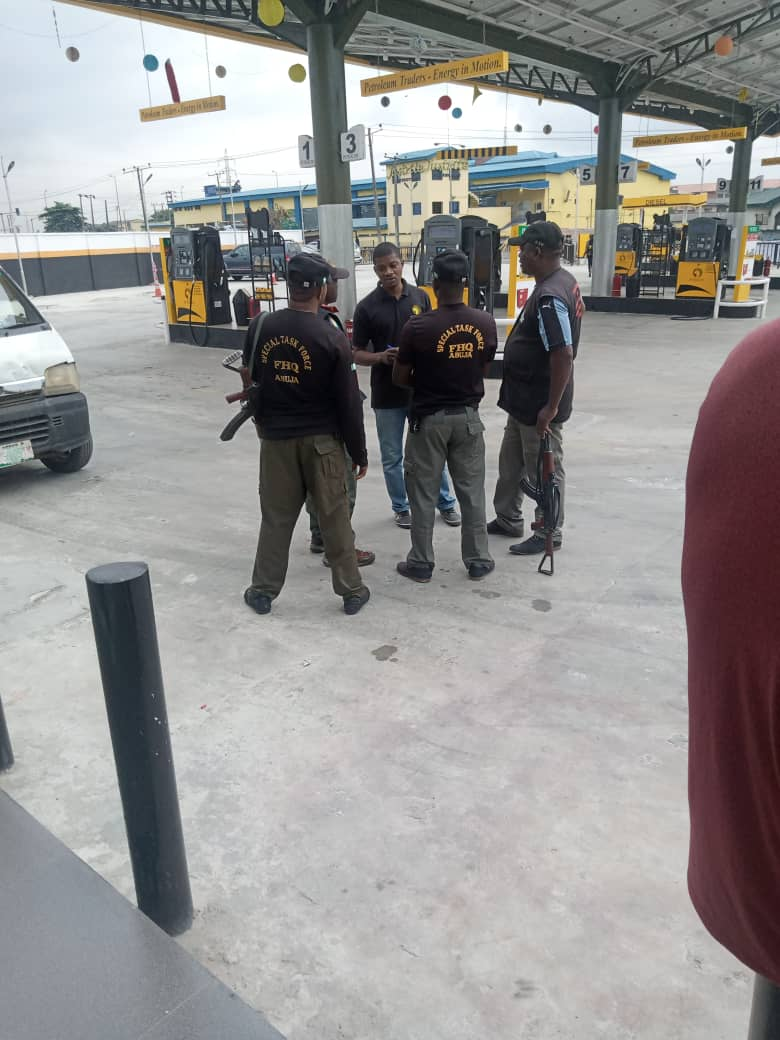 SARS officers storm
