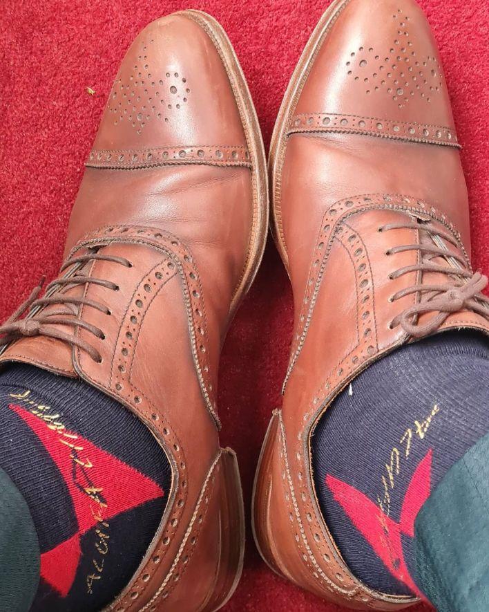 leke adeboye same shoes