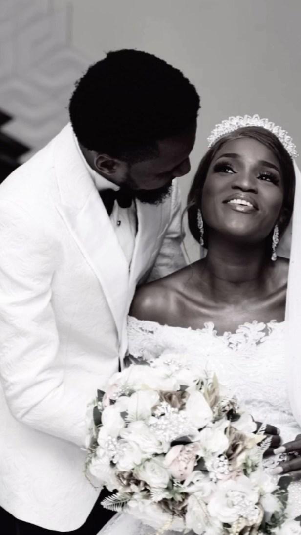 Bukunmi Oluwashina weds