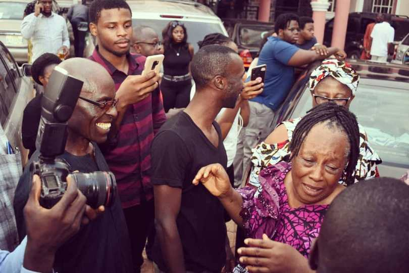 Patience Ozokwor receives car gift