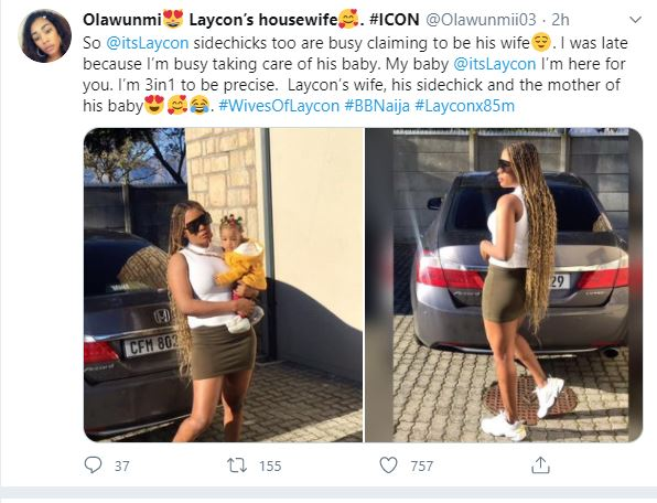 Wives of Laycon