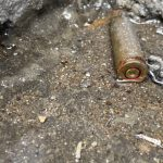 Judicial Panel visits Lekki tollgate, discover bullet shells 10 days after shooting (Photos/video)