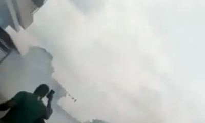 Endsarsprotests: Police allegedly shoots and spray tear gas at peaceful protesters in Abuja (Video)