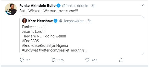 Funke Akindele shares